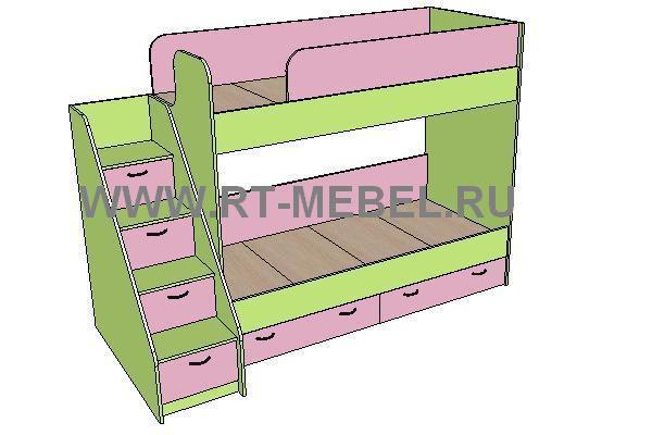 Кровать 2 (1942х870х1650)